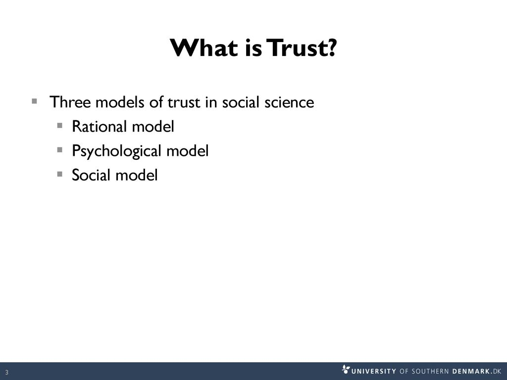 Trust and Distrust in International Relations - ppt download