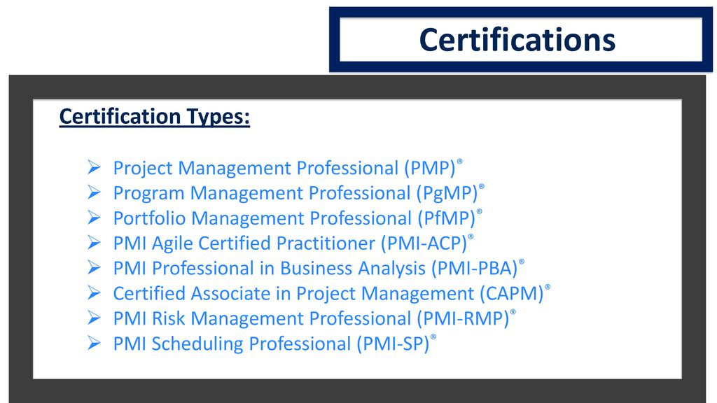 Project Management Institute Pmi Ppt Download
