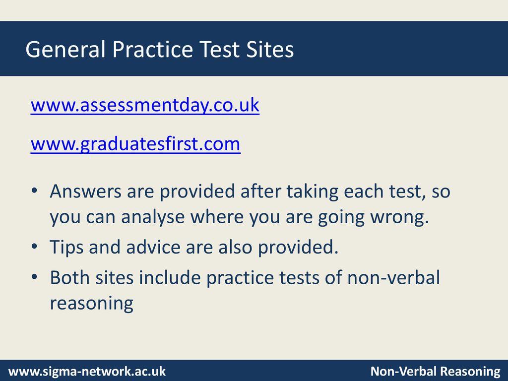 Non-Verbal Reasoning Tests - ppt download