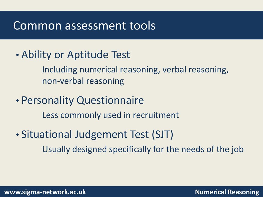 Numerical Reasoning Tests - ppt download