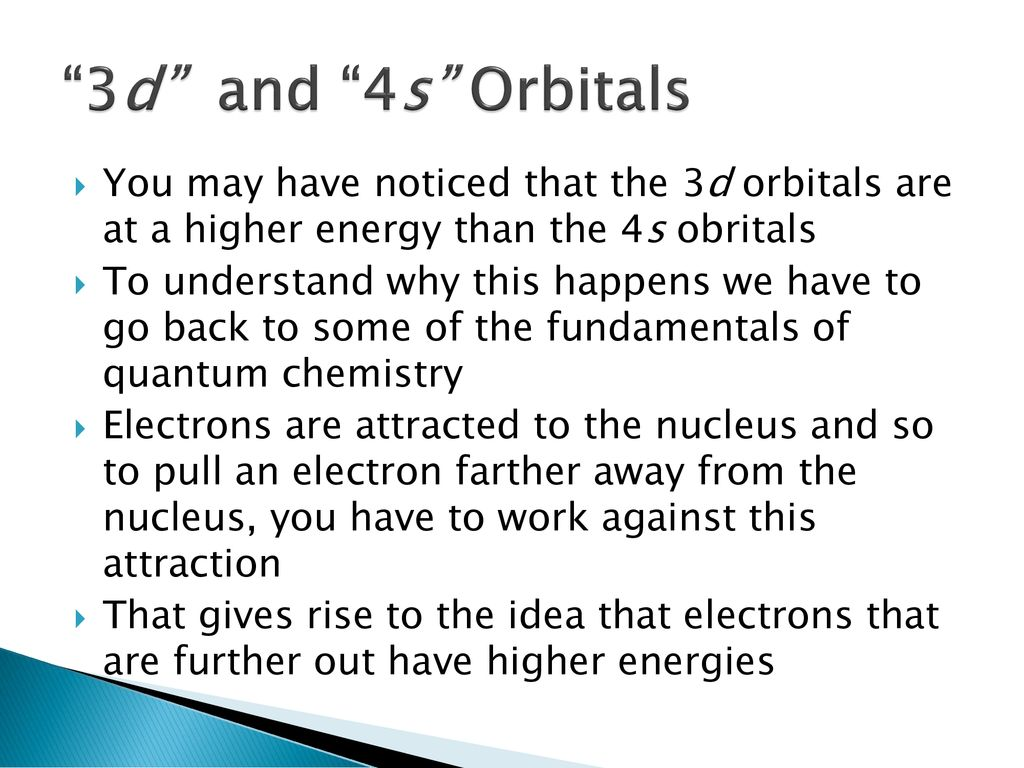 Electron Configurations and the Aufbau Principle - ppt download