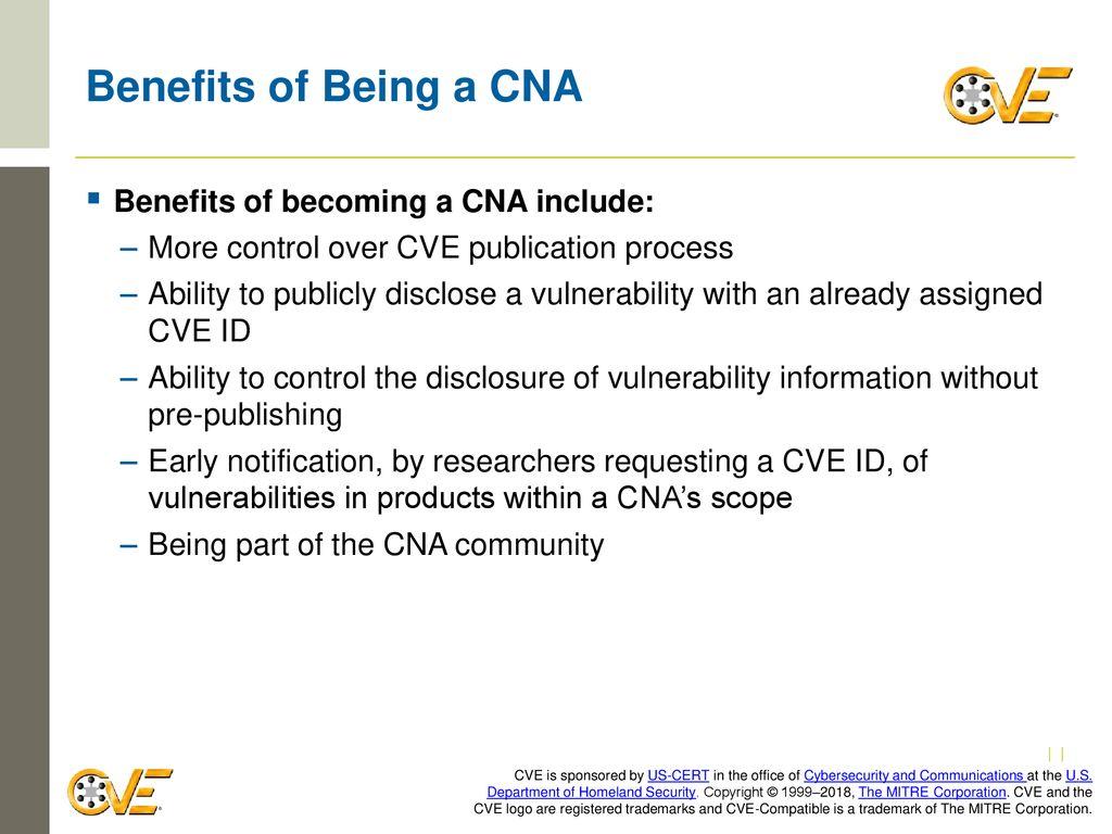 Becoming a CNA CVE Team  - ppt download