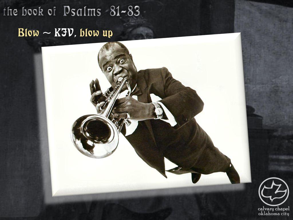 psalm 81 kjv