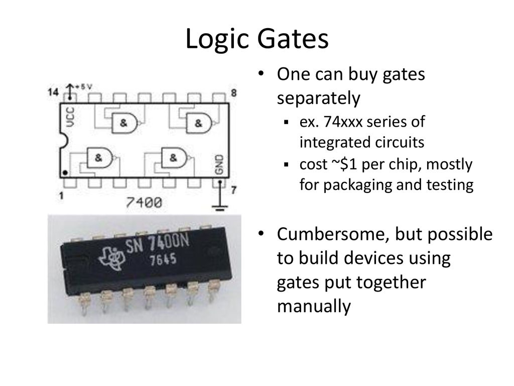 Gates And Logic From Transistors To Circuits Circuitry For 7400 Test 39