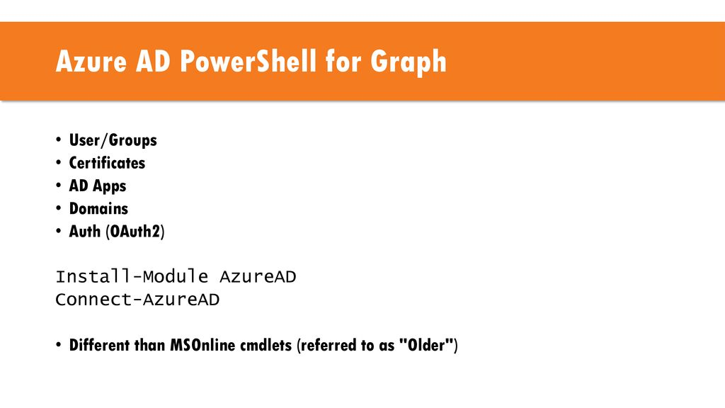 Office 365 PowerShell Jeremy Sublett  - ppt download