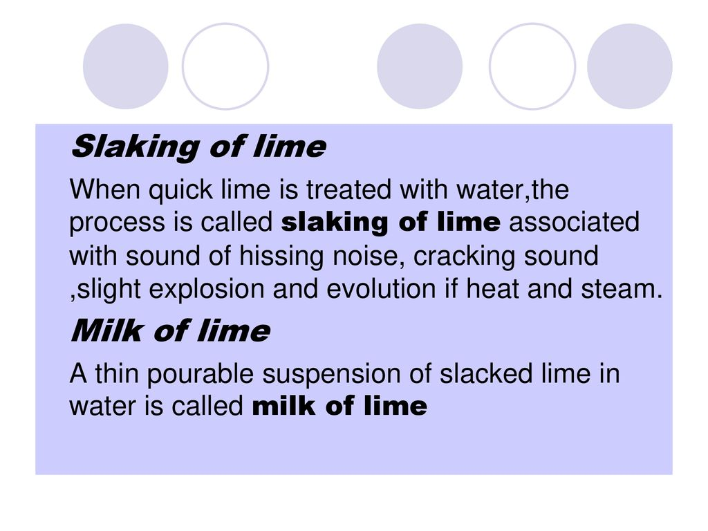 TOPIC INCLUDES- STONE BRICK LIME  - ppt download