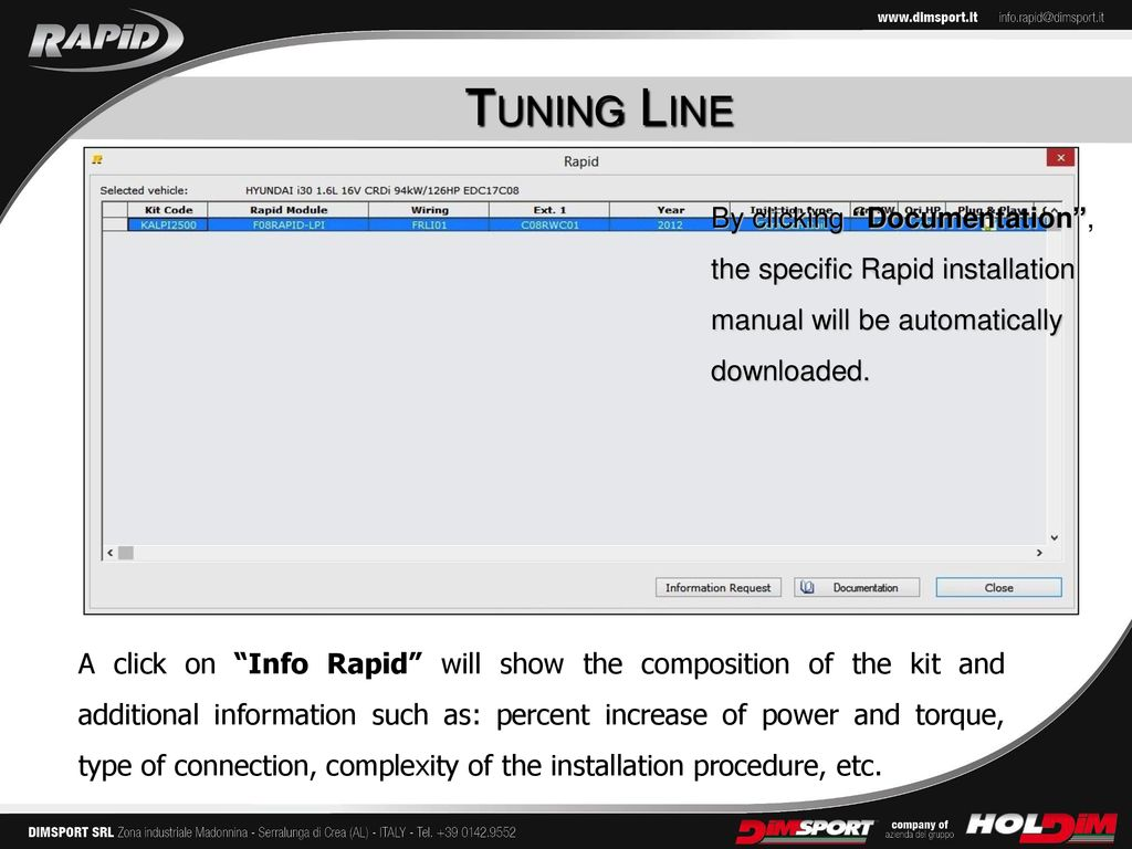 The New RAPID TPM A NEW PLATFORM FOR TURBO PETROL ENGINES