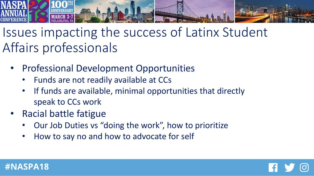 Current Issues Impacting The Success Of Latinx Student Affairs