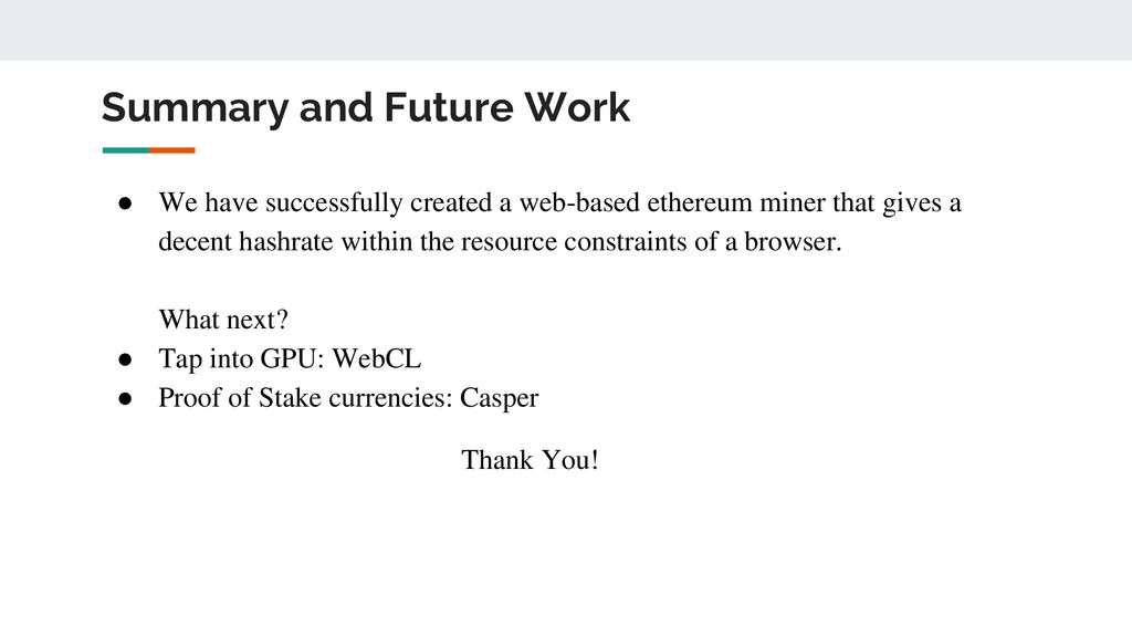 Distributed Web Mining of Ethereum - ppt download