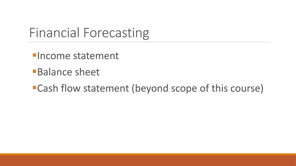 Financial planning and forecasting - ppt download