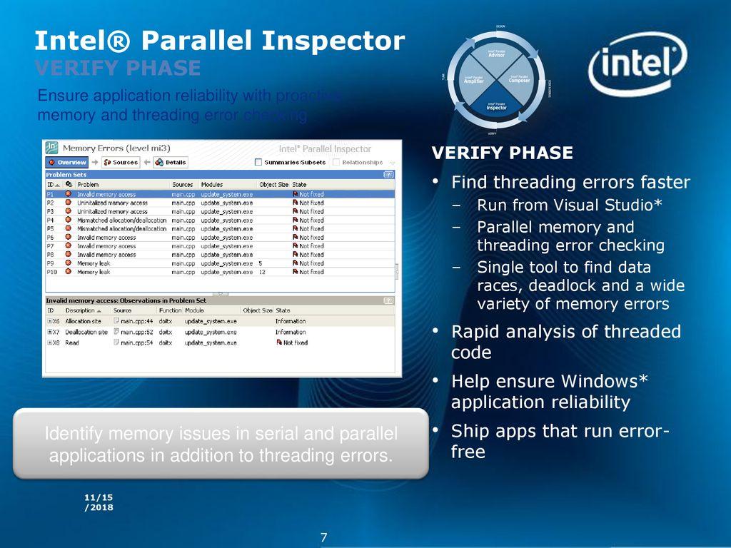 Intel® Parallel Studio and Advisor - ppt download