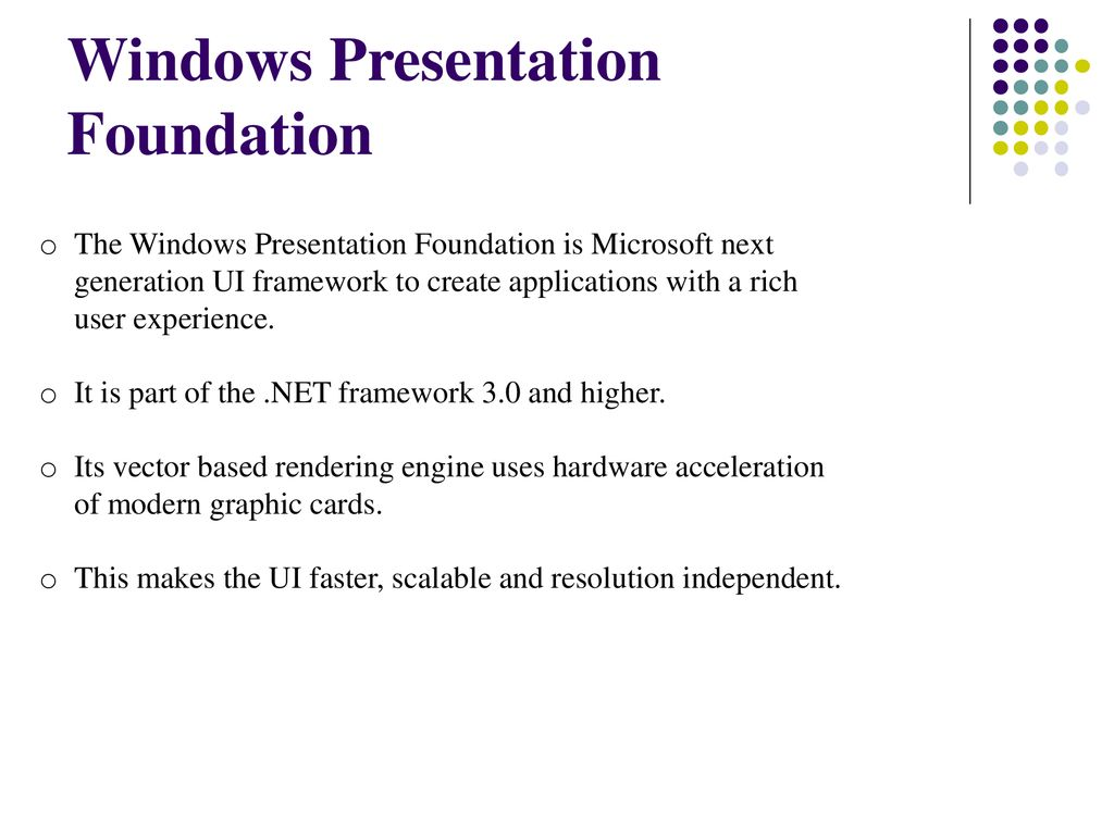 WPF AKEEL AHMED  - ppt download