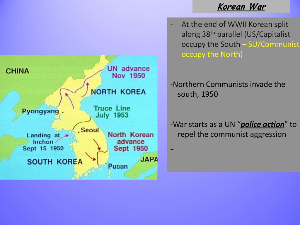 Korea And The Cold War Ppt Download - 38th-parallel-us-map