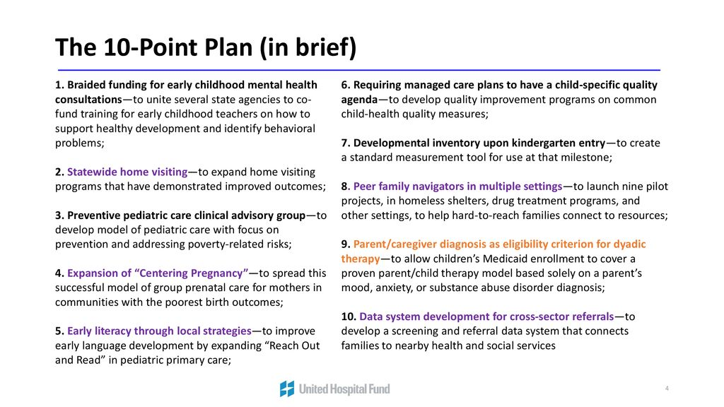 Inbrief Early Childhood Mental Health >> First 1 000 Days On Medicaid Approach Ppt Download