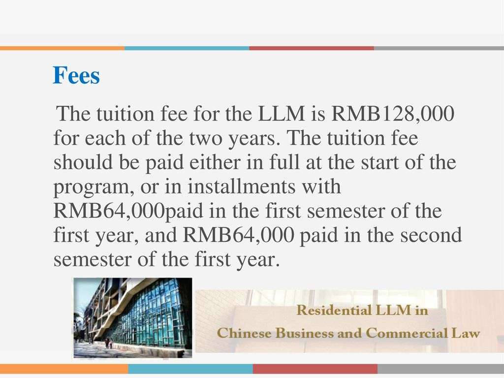 Introduction: The LLM in Chinese Business and Commercial Law