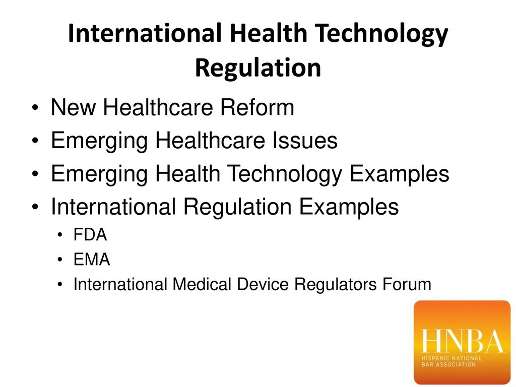 Overview Introductions Emerging technologies and regulatory