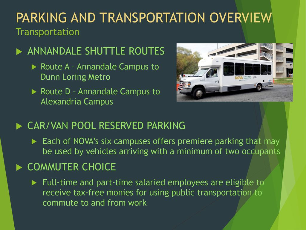 ANNANDALE Parking and Transportation - ppt download