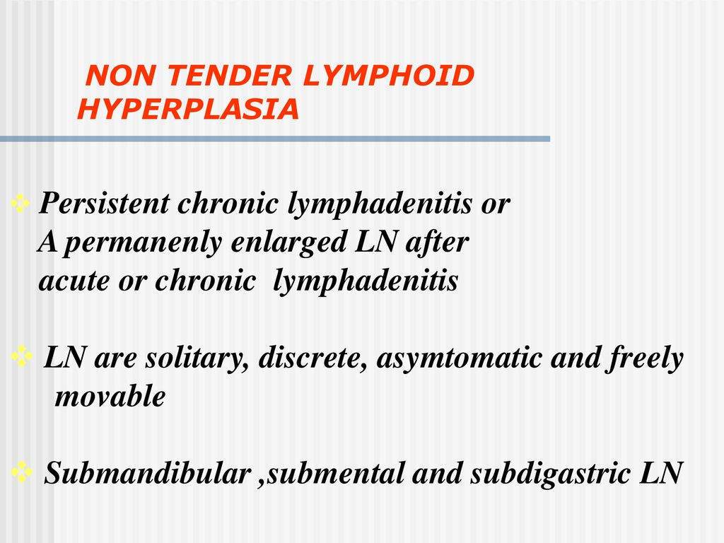 CERVICAL LYMPHADENOPATHY - ppt download