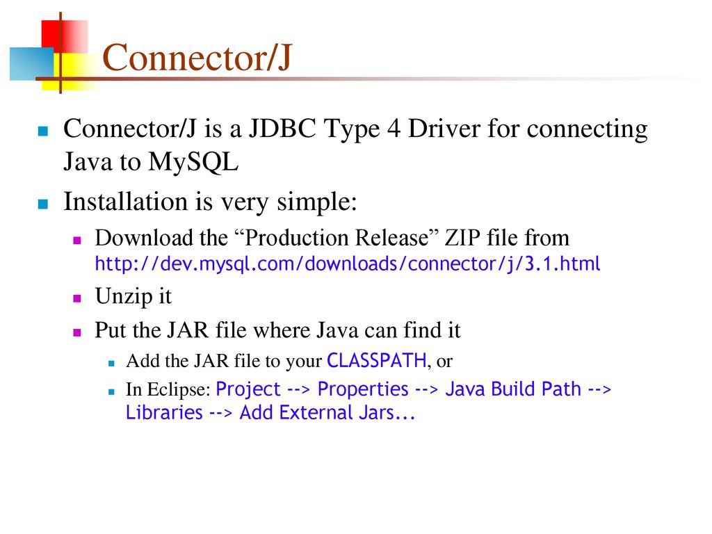 Mysql connector/odbc 5. 1 downloads.