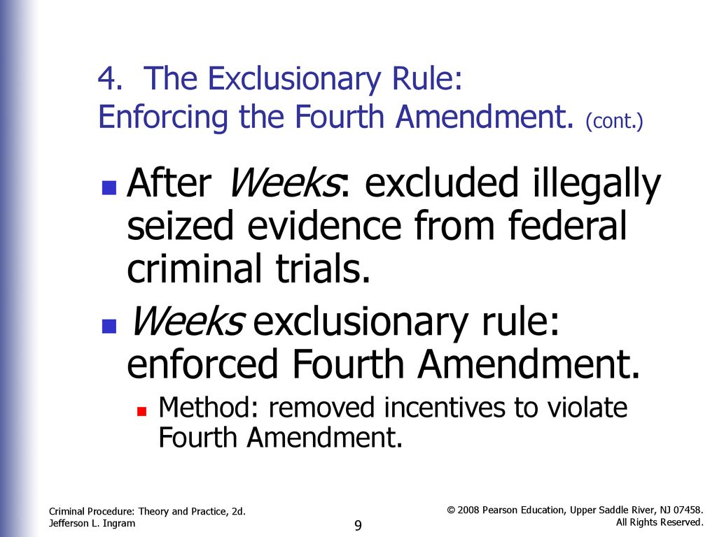 what are some alternative remedies to the exclusionary rule
