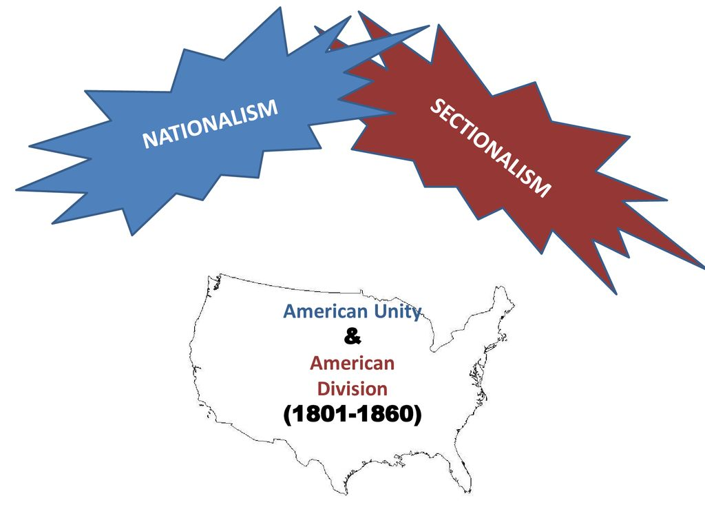 nationalism sectionalism