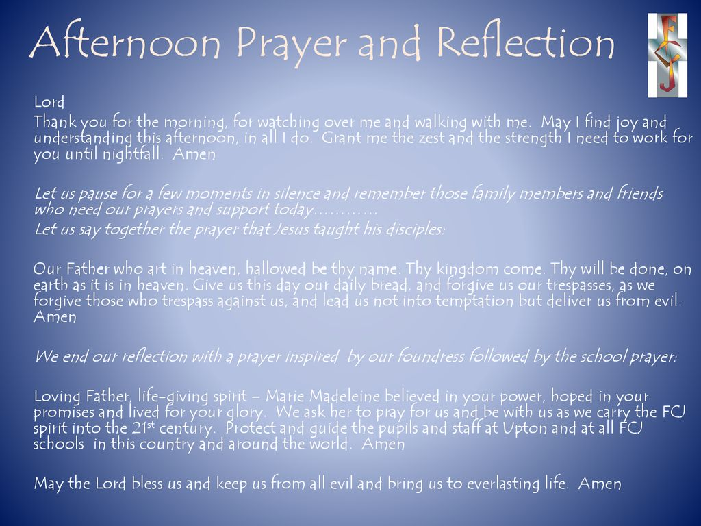 Prayers for the week April ppt download