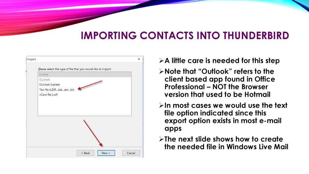An INTRODUCTION TO THUNDERBIRD - ppt download