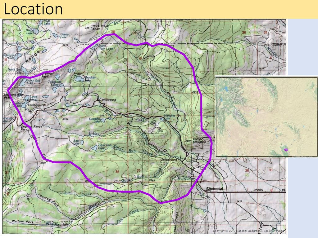 Snowy Range Wyoming Map.Mapping Groundwater In The Snowy Range Ppt Download