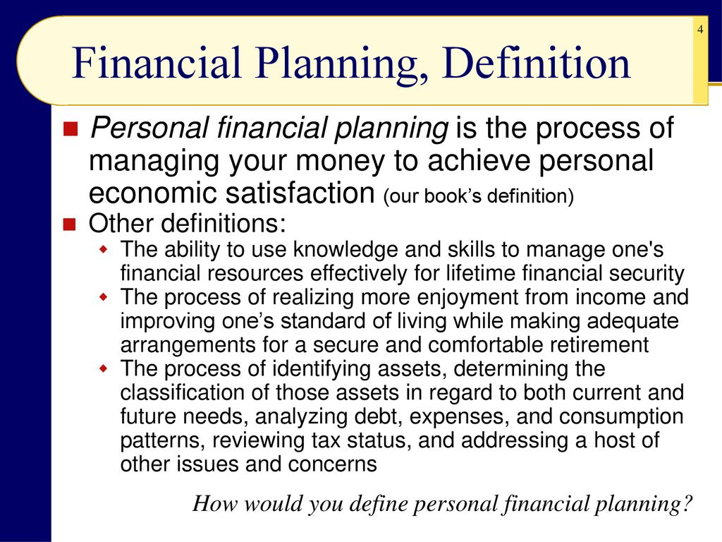 financial planning and money management - ppt download