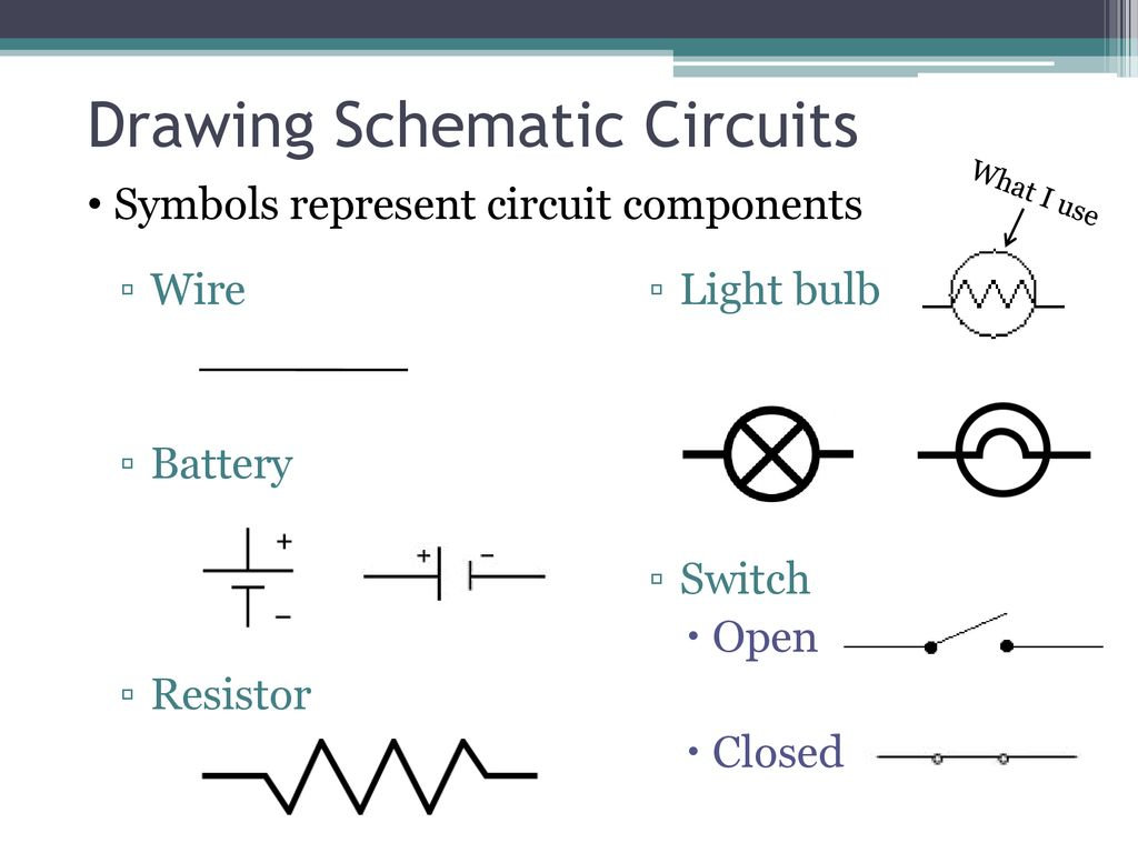 Decide If Each Is True Or False Ppt Download Open Circuit With Battery And Light Bulb On Wire Switch Resistor Closed Drawing Schematic Circuits