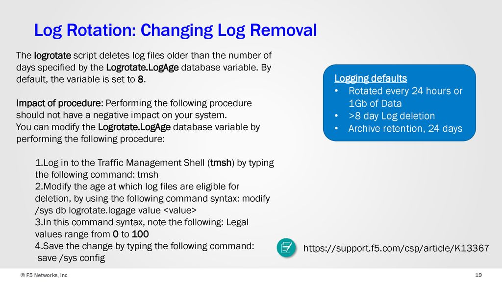F5 Sacramento UserGroup Logging & Monitoring - ppt download