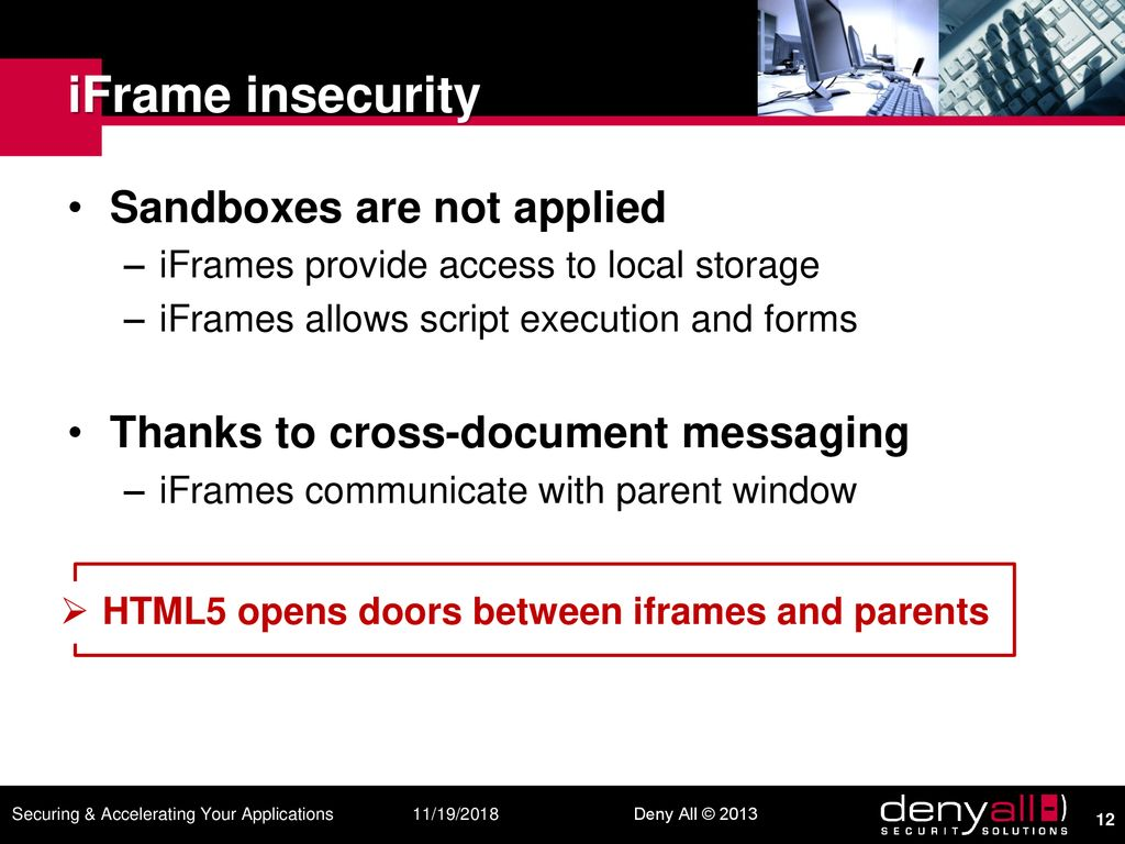 HTML5 a clear & present danger - ppt download