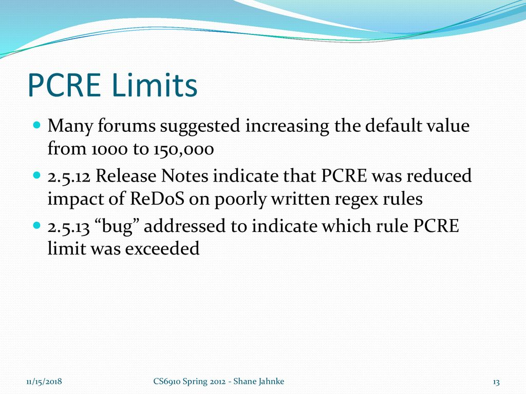 execution error - pcre limits exceeded