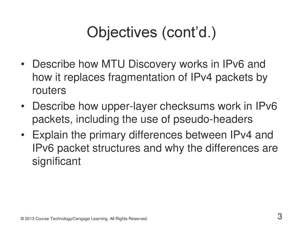 3 Objectives ...