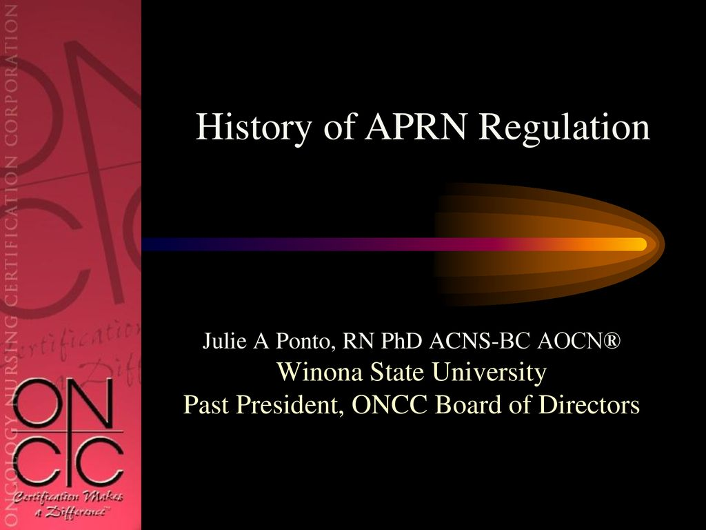 Recent Trends and Implications for Oncology APRN Practice