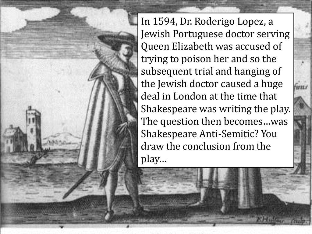 was shakespeare anti semitic