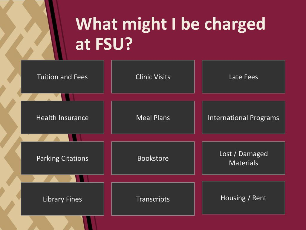 Student Business Services studentbusiness fsu edu - ppt download