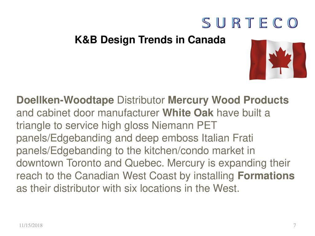 Design Trends Kitchen and Bath 2012/2013 USA and Canada