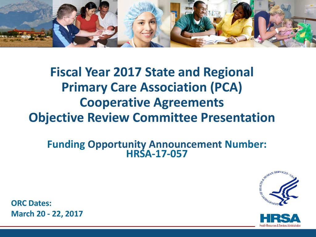 Funding Opportunity Announcement Number: HRSA - ppt download
