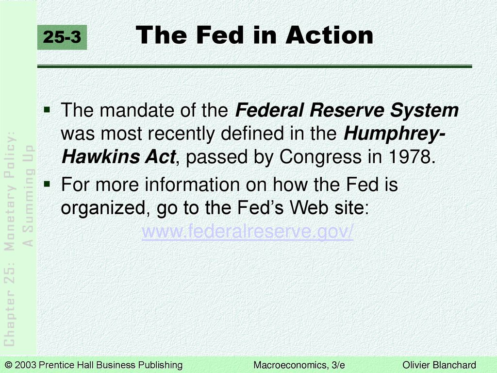 monetary policy: a summing up - ppt download