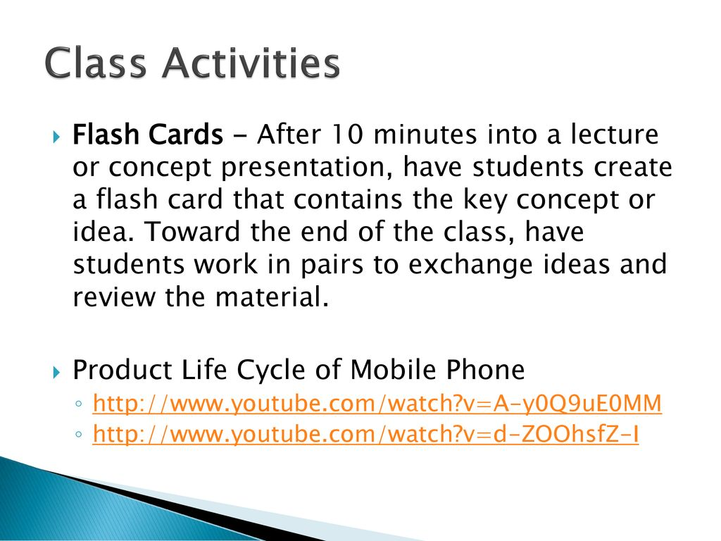 newest f2192 c2bff Product Life Cycle of Mobile Phone. Class Activities