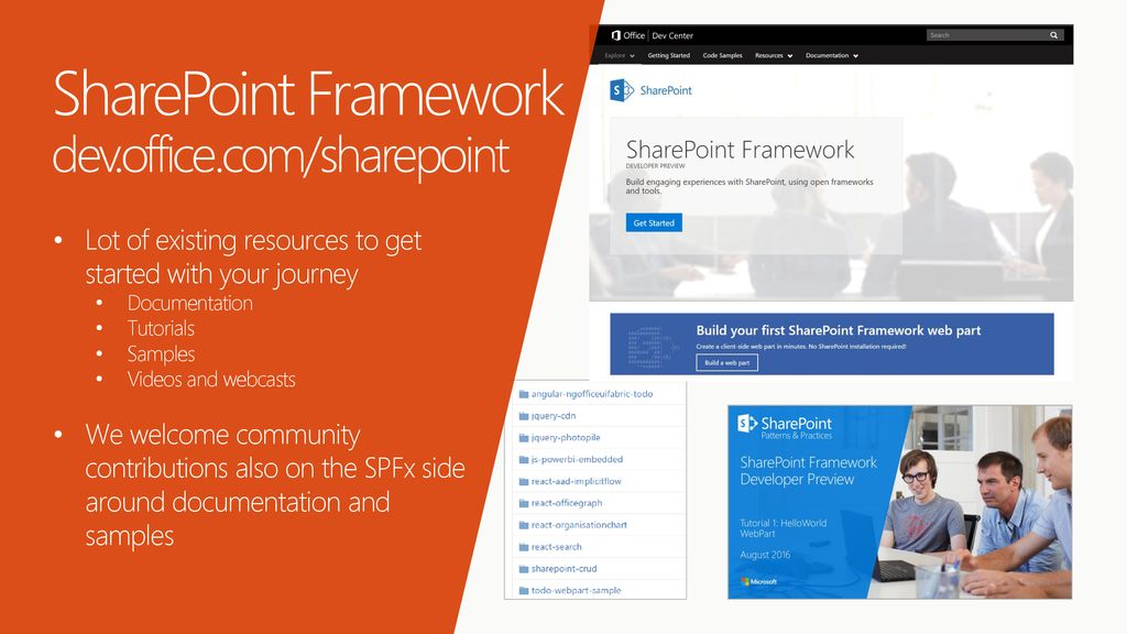 Learn about PnP initiative and the new SharePoint Framework - ppt