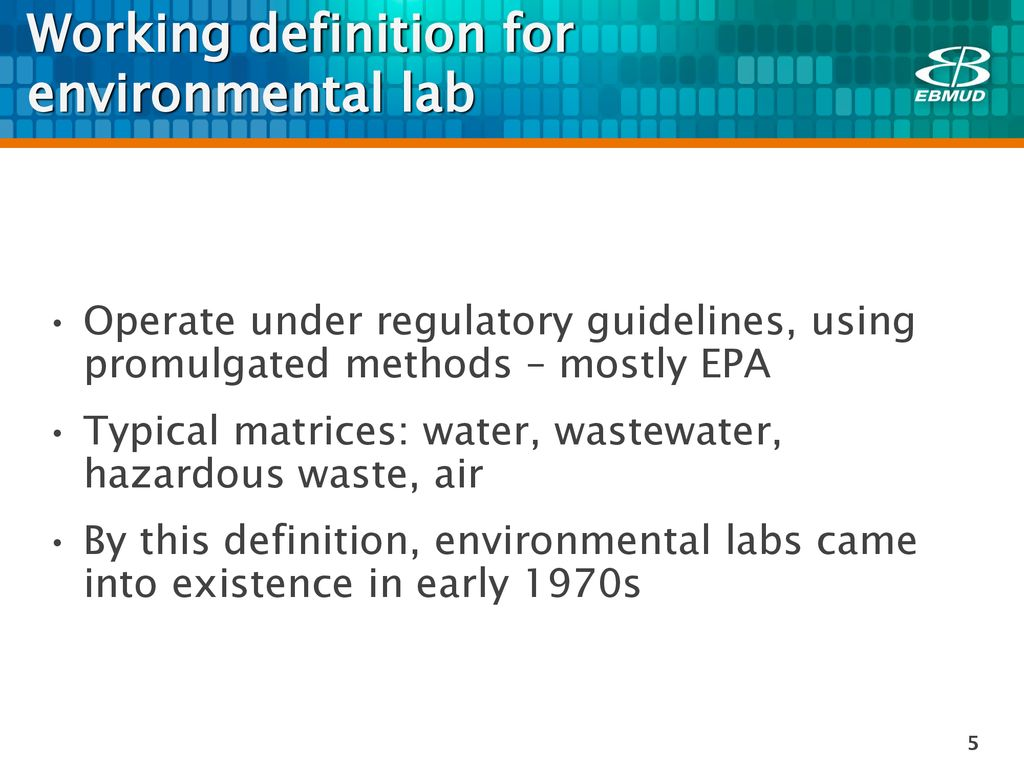 future-relevant environmental laboratory - ppt download