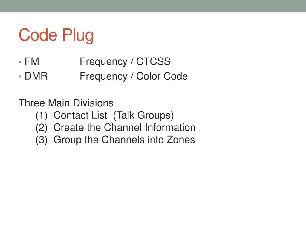 Digital Mobile Radio The very basics - ppt download
