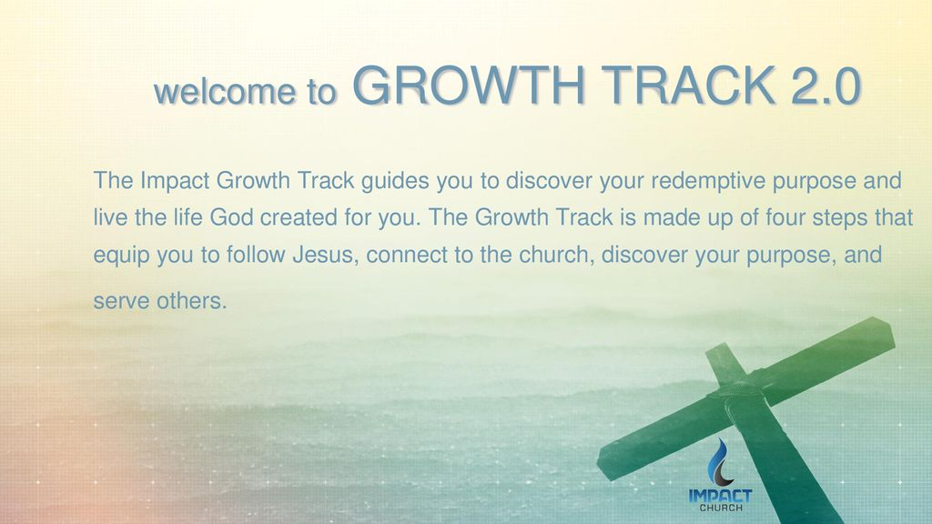 welcome to GROWTH TRACK ppt download