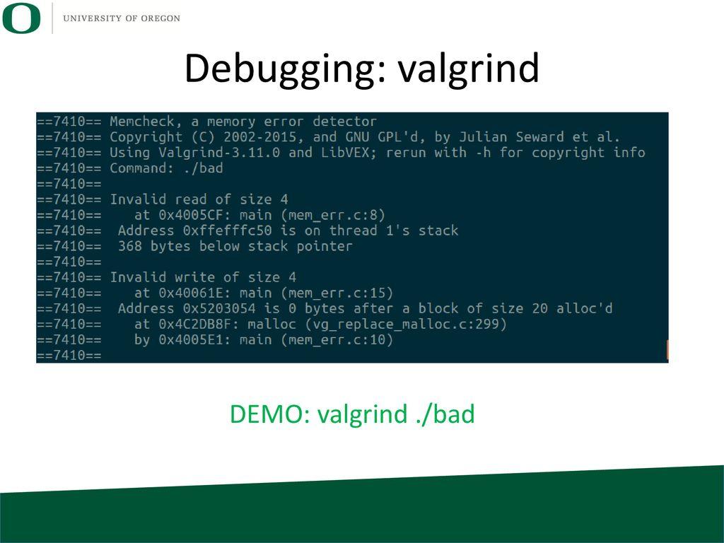 Lab: ssh, scp, gdb, valgrind - ppt download