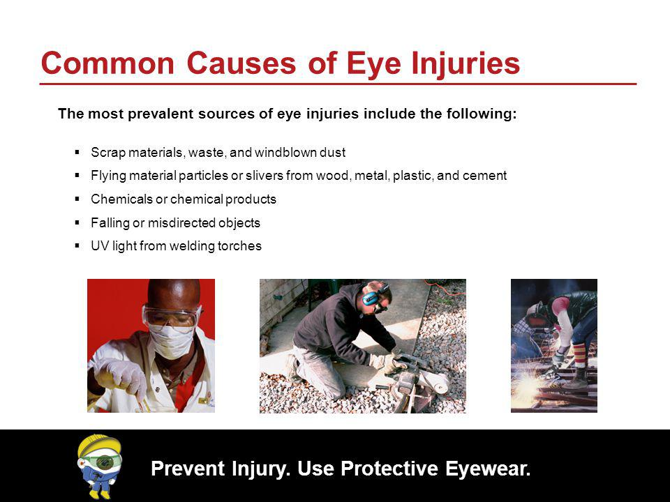 Common Causes of Eye Injuries