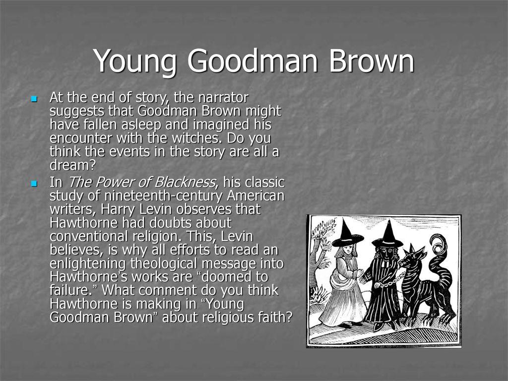 narrator of young goodman brown