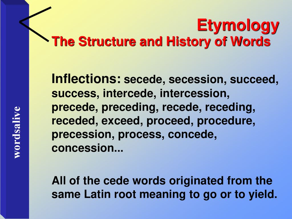 """a word is the skin of a living thing."""" - ppt download"""