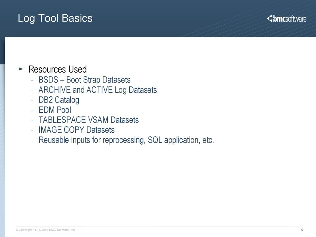 and other uses of a DB2 Log Tool - ppt download